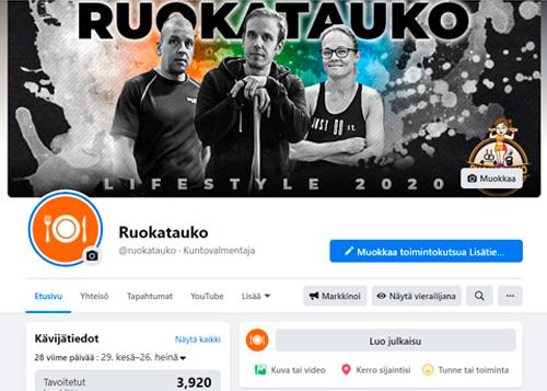 facebook mainonta